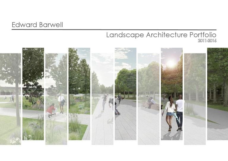 landscape architecture portfolio by ed barwell