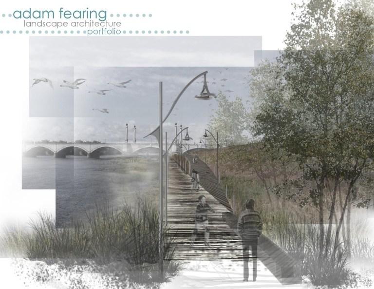landscape architecture portfolio design