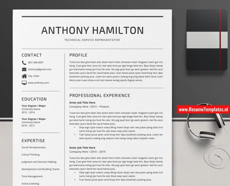 minimalist cv template resume template word curriculum vitae modern resume editable resume professional resume teacher resume 1 3 page resume