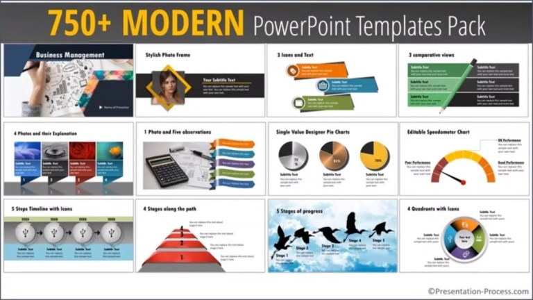 modern powerpoint templates pack