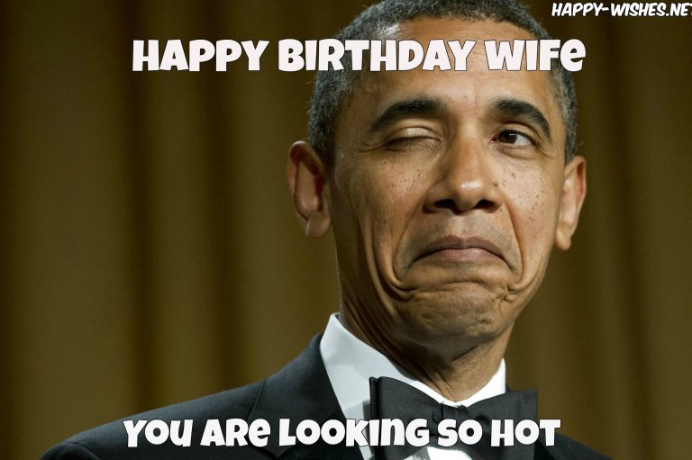 obama romantic happy birthday wishes for wife