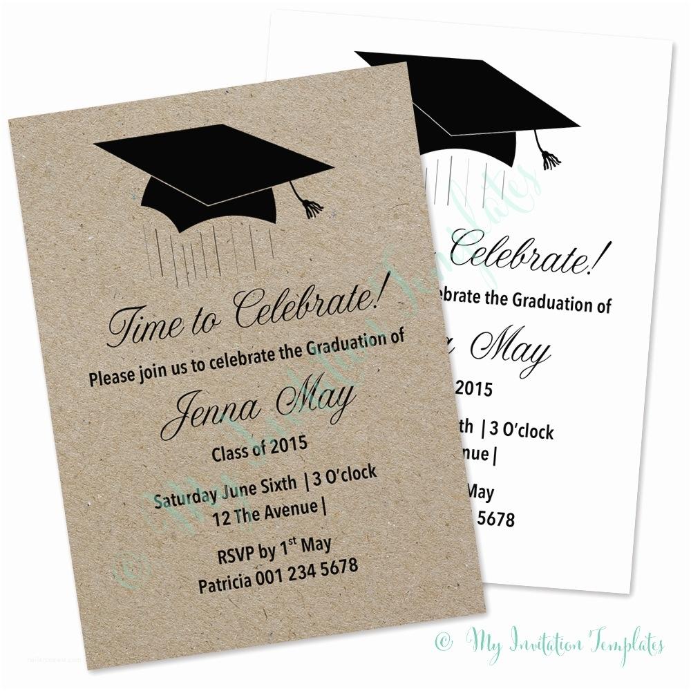 sample graduation party invitation graduation invitation