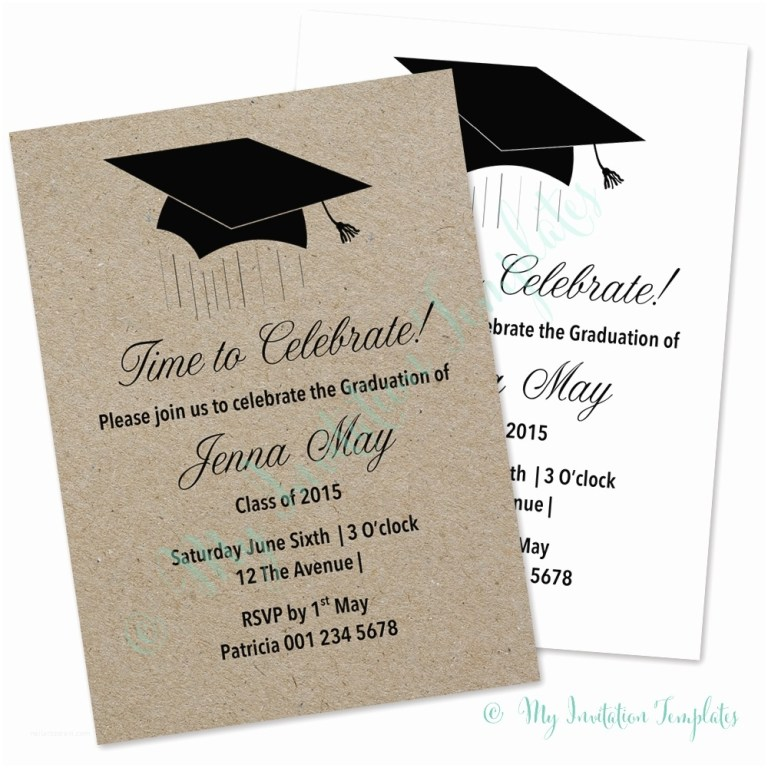 sample graduation party invitation graduation invitation