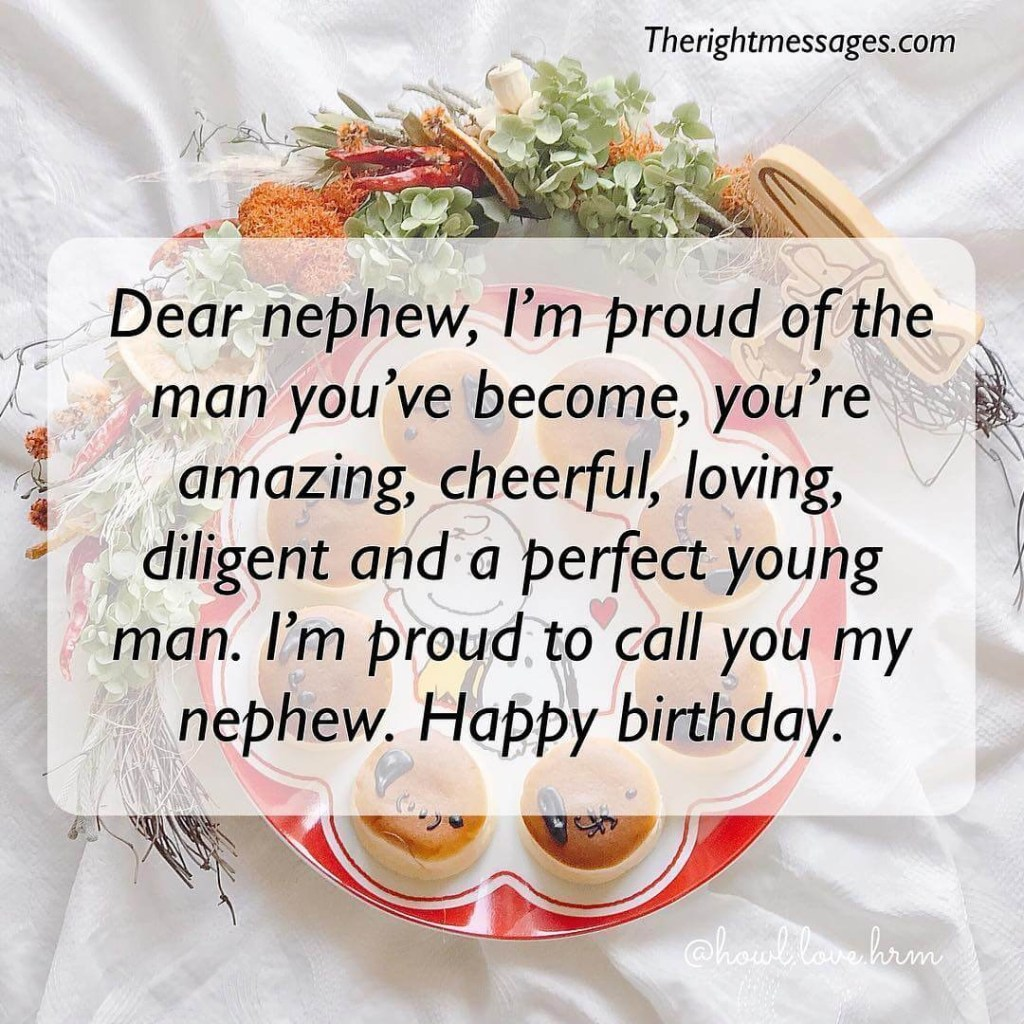 short long birthday wishes messages for nephew