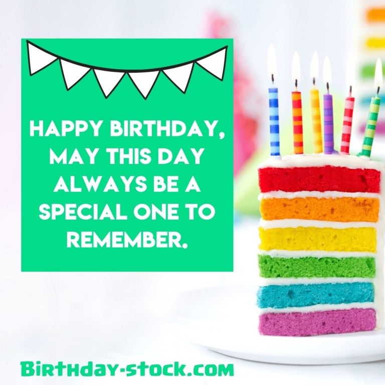 simple happy birthday wishes text