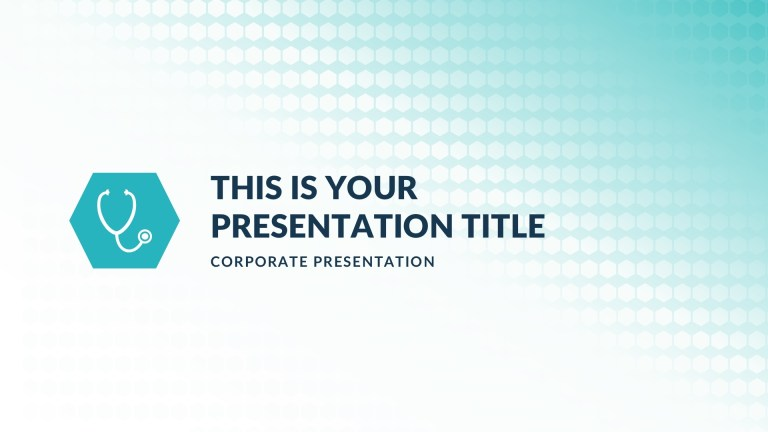 the medical free powerpoint template keynote theme google