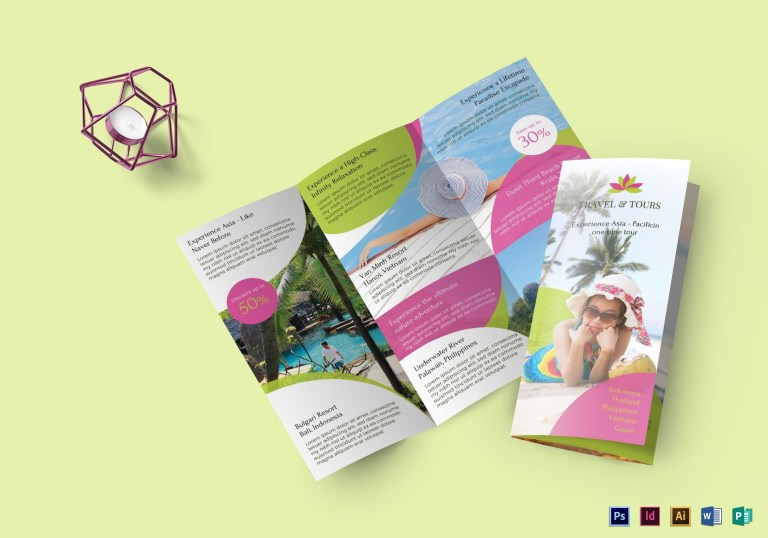 travel brochures examples 2020