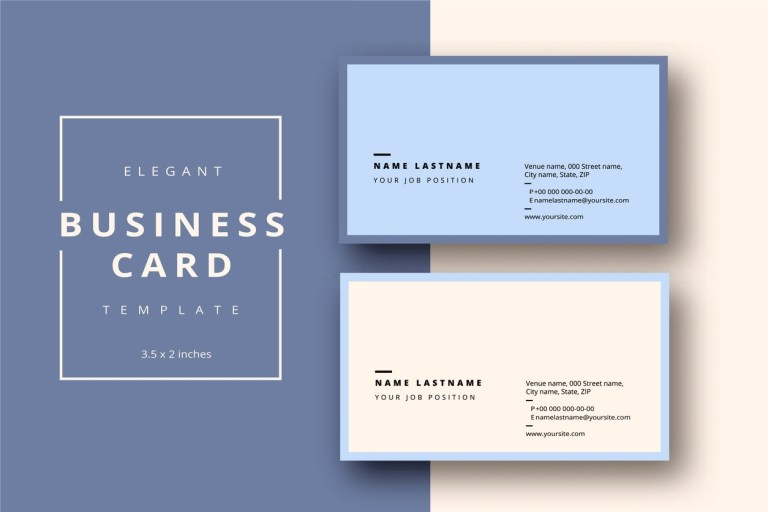 word business card template free download addictionary