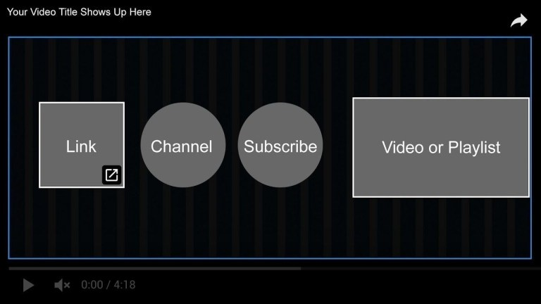 youtube end screen template psd file download link