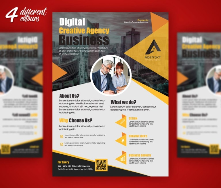 creative flyer templates for corporate