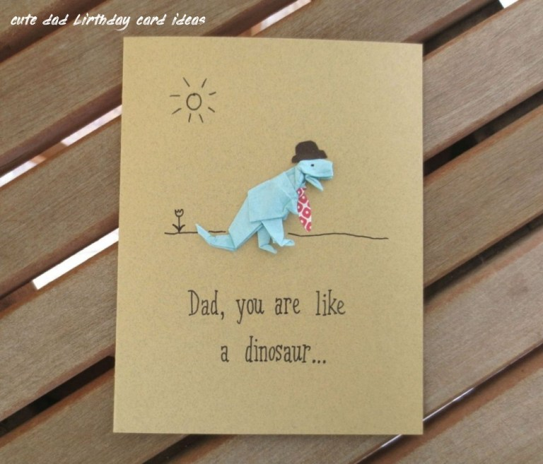 7 cute dad birthday card