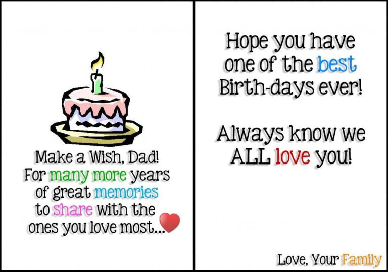 9 images of printable birthday cards for dad dad birthday