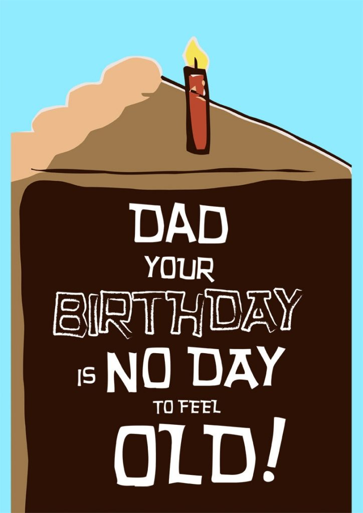 funny dads birthday card printbirthdaycards