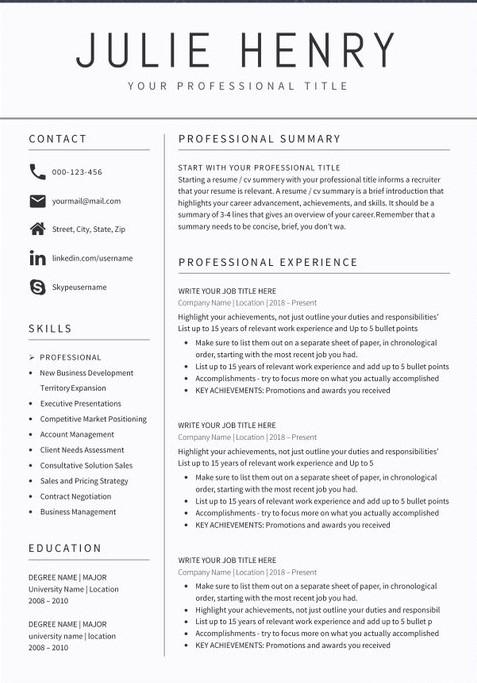 5 teacher resume sample format templates 2020