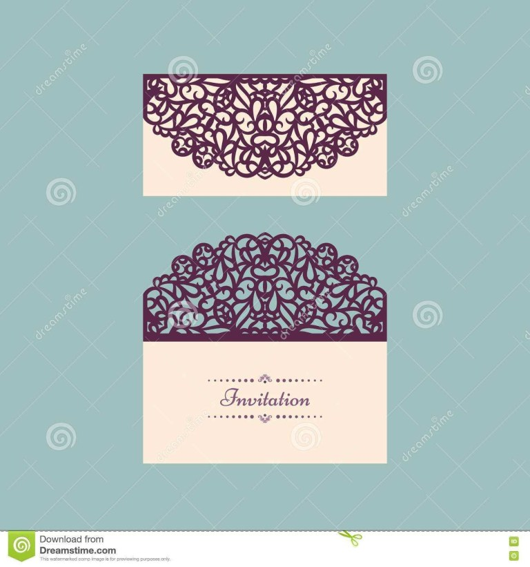 53 creative vector wedding invitation envelope template