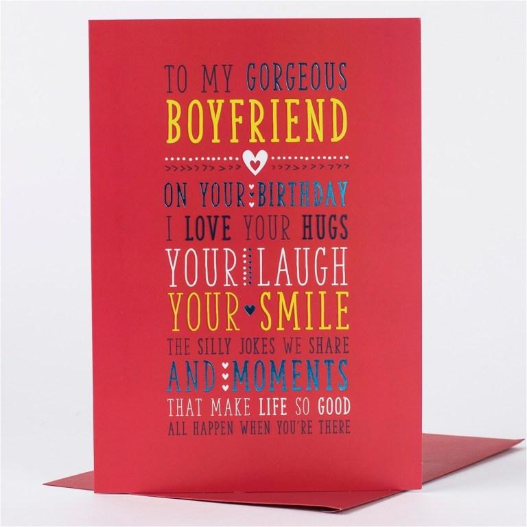 birthday card for boyfriend what to write birthdaybuzz