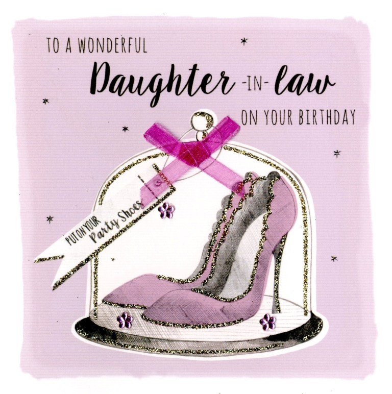 birthday cards for daughter in law card design template