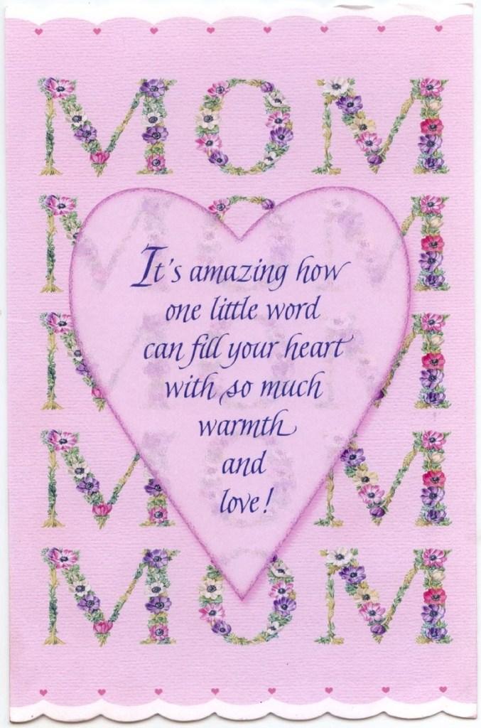 birthday cards mom card design template
