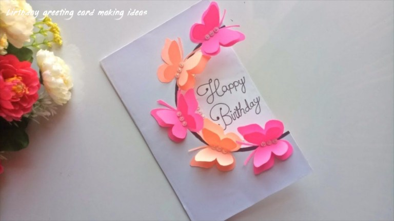 cool homemade birthday cards for mom archives cards template