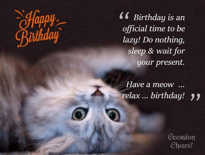 cute animals birthday wishes for your facebook friends