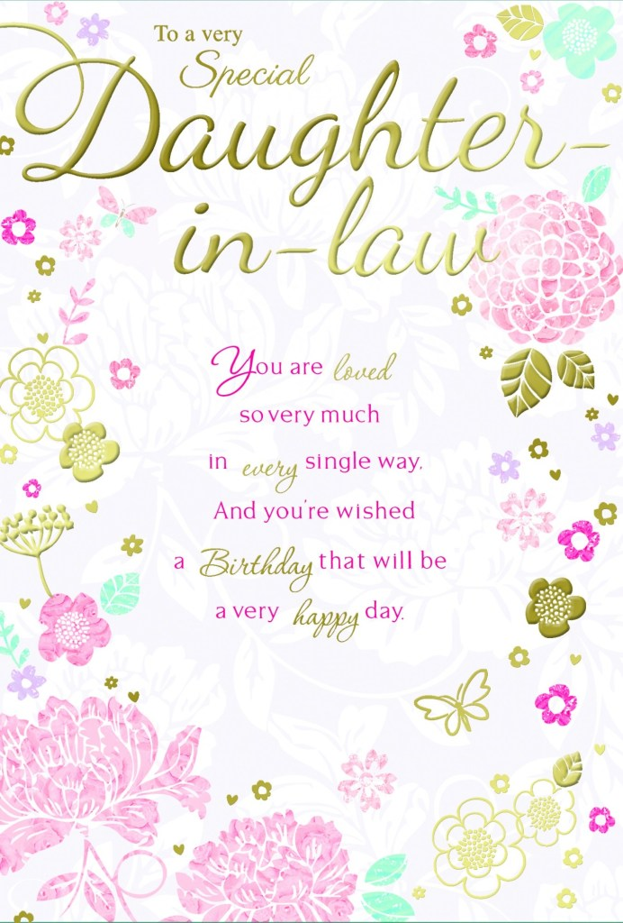 daughter in law greeting cards