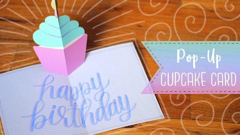 easy pop up birthday cupcake card tutorial essyjae