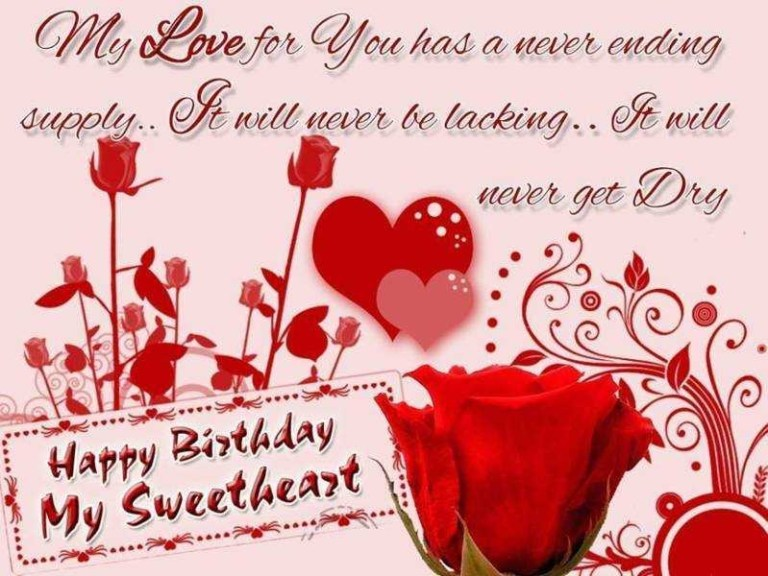 funny beautiful happy birthday sms for girlfriend in