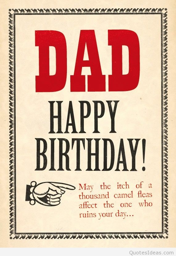 happy birthday dad greetings messages