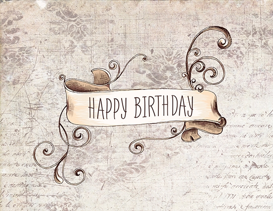 happy birthday vintage style free happy birthday ecards