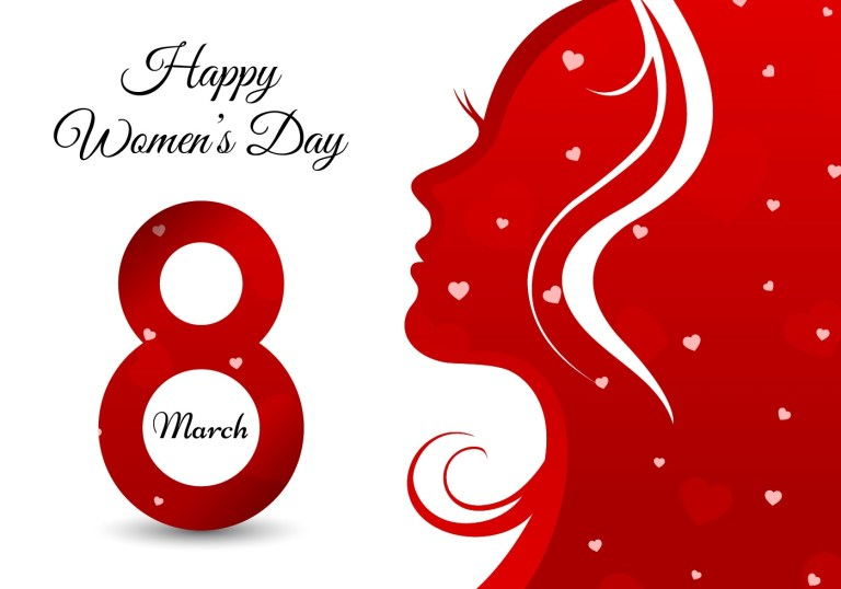 happy womens day greeting card download free vectors