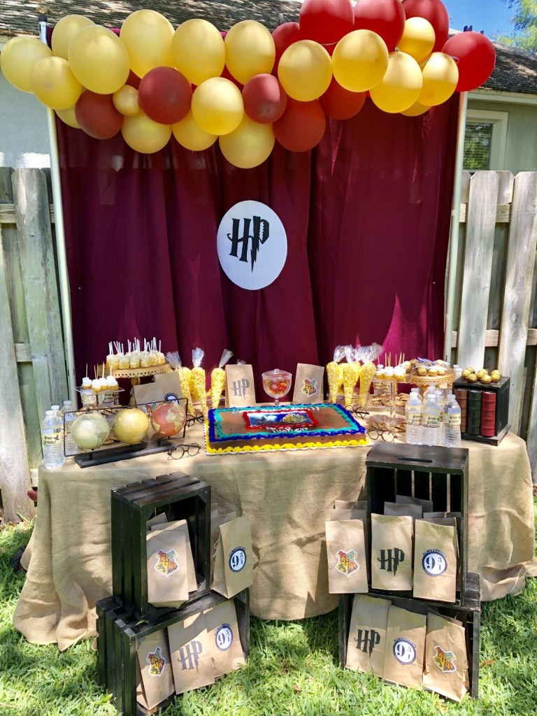 harry potter birthday party amazon essentials amber likes