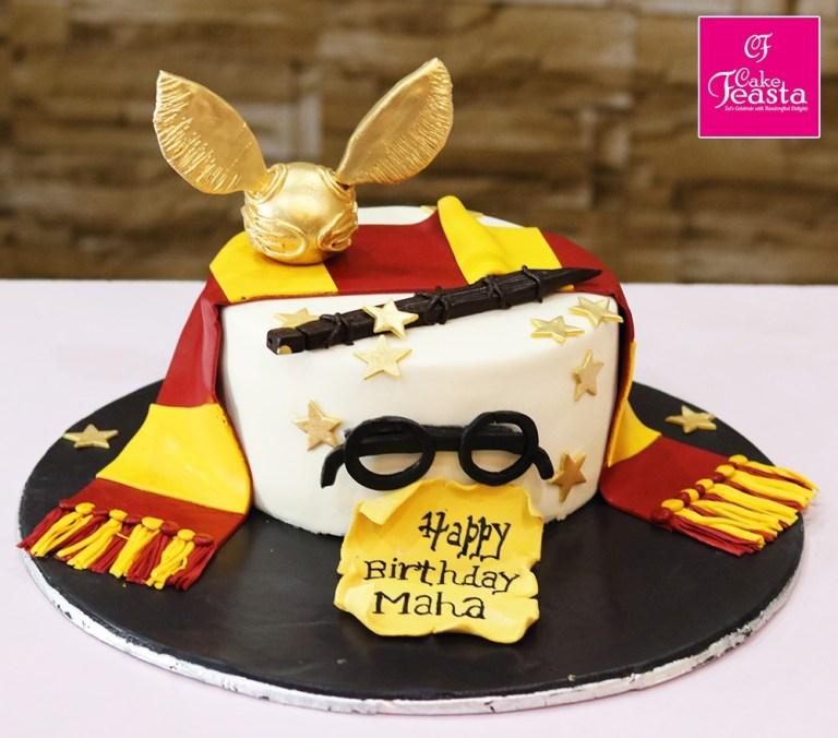 harry potter kids birthday cake