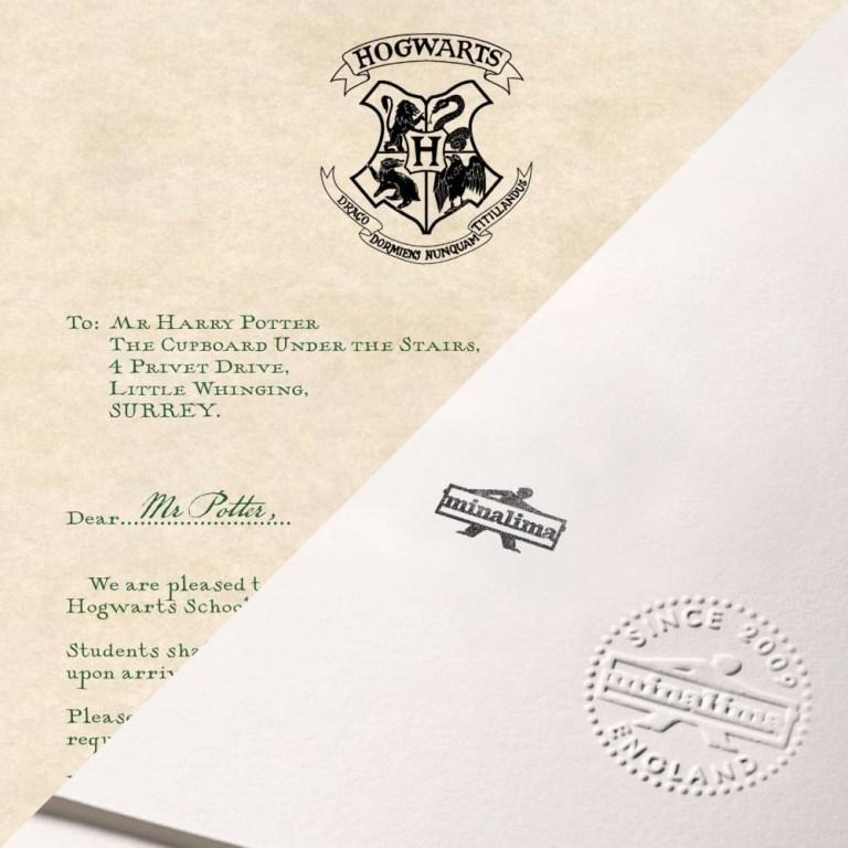 harry potters hogwarts acceptance letter print graphic
