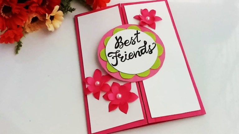 how to make special card for best frienddiy gift idea