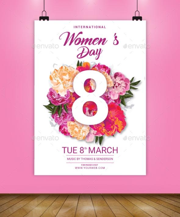 international womens day flyer template mahirvelizade