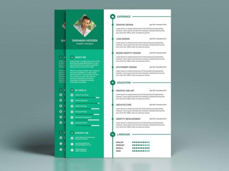 professional modern resume template free resumekraft