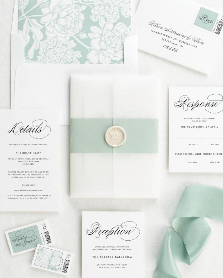 script elegance vellum wedding invitations vellum wedding