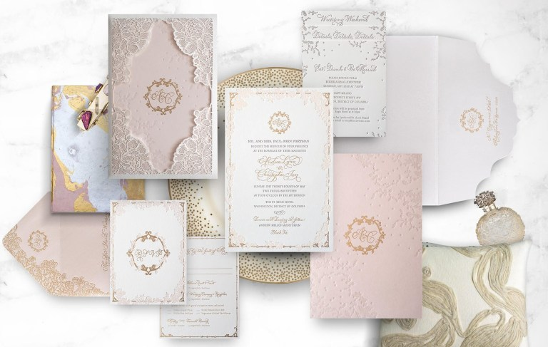 silver arabic wedding invitation atelier isabey