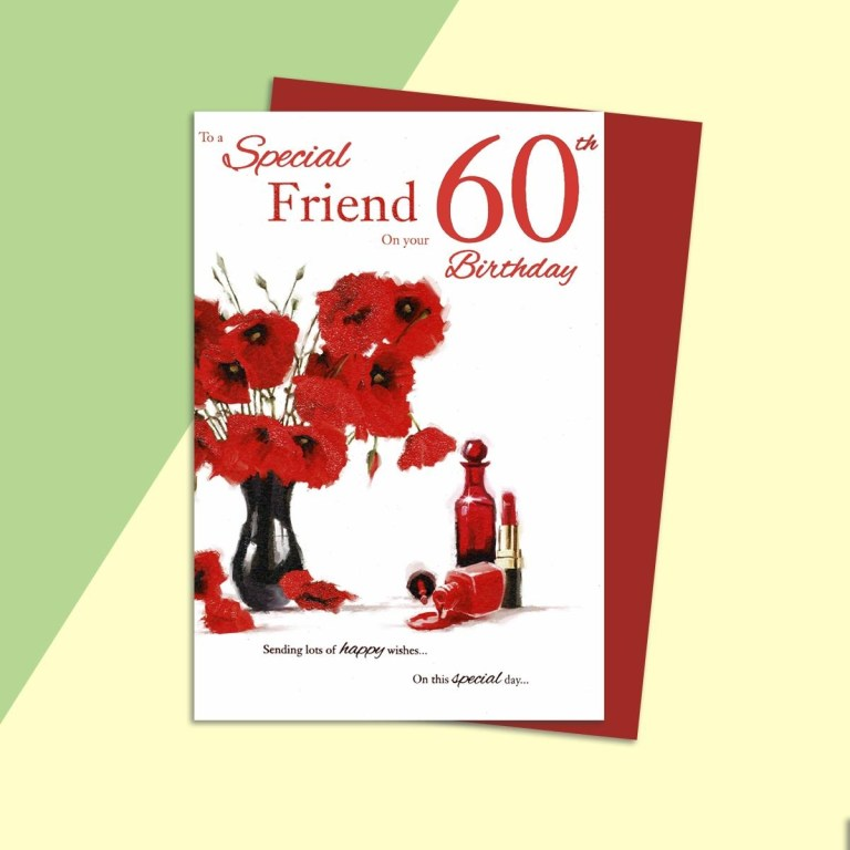 special friend on your 60th