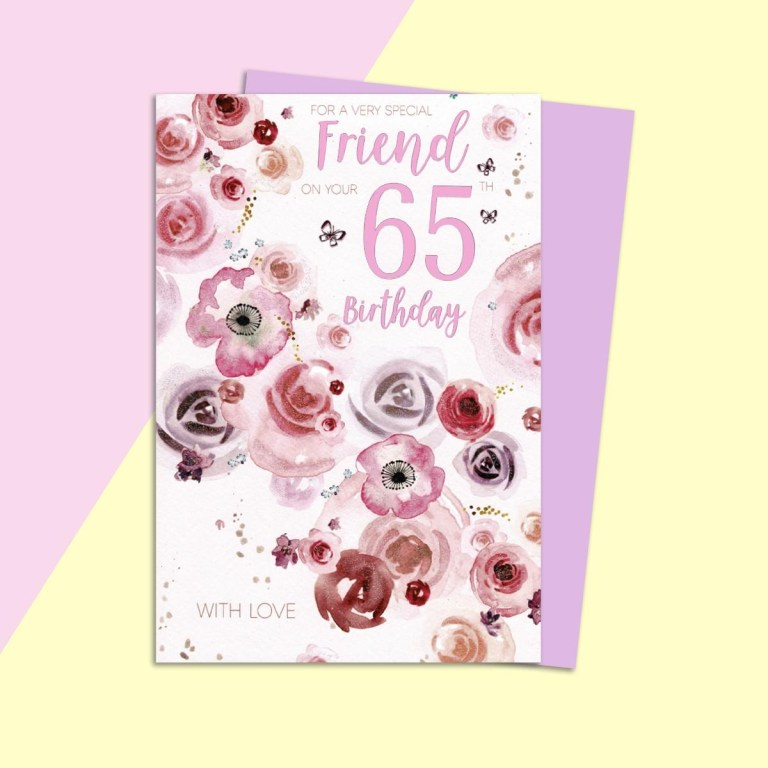 special friend on your 65th female
