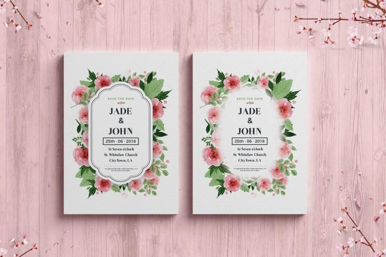 wedding or event invitation brochure or flyer design digihub