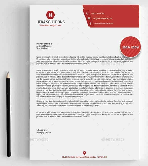 31 word letterhead templates free samples examples
