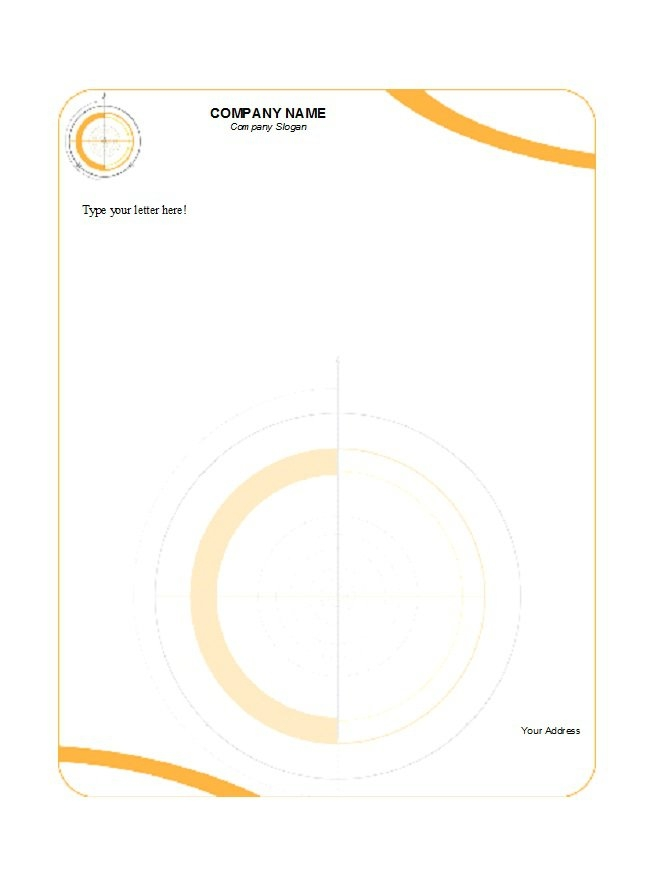 best 3 company letterhead template format excel you calendars