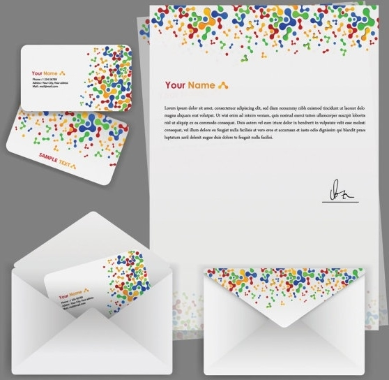 business company letterhead logo free vector download