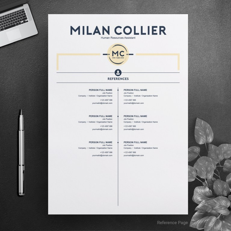 creative resume cv template crella