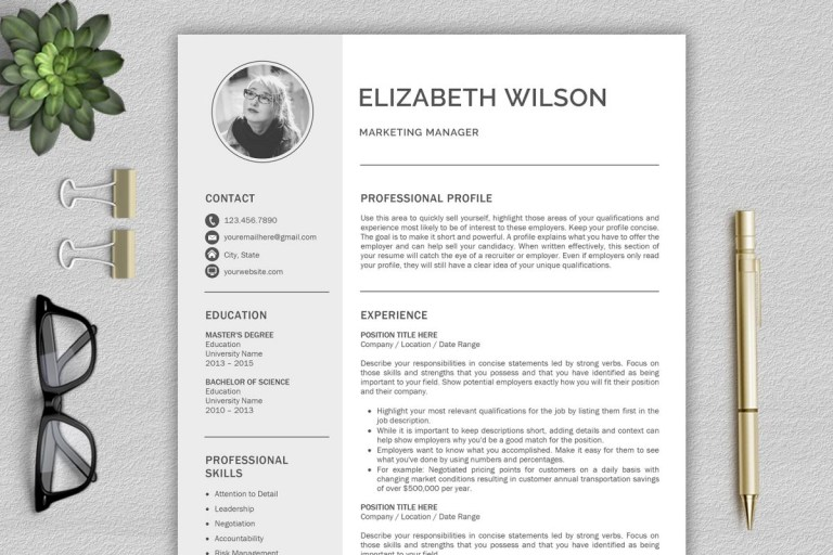 creative resume template cv template resume template for