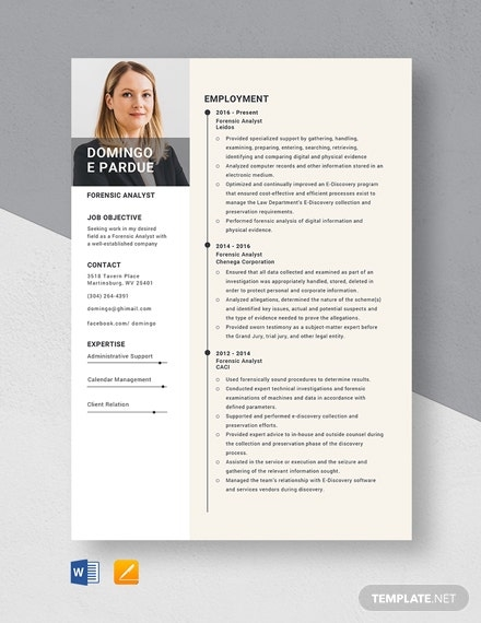 forensic social worker resume template word doc