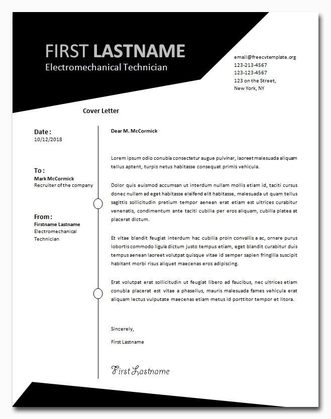 Cover Letter Template Wonderful Selected Designs Tinamaze Com