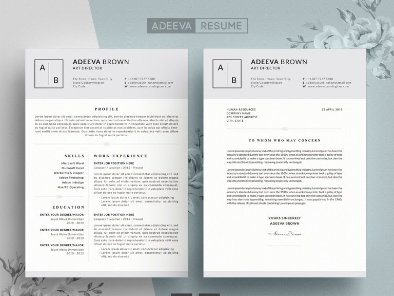 simple resume template brown resume templates on dribbble
