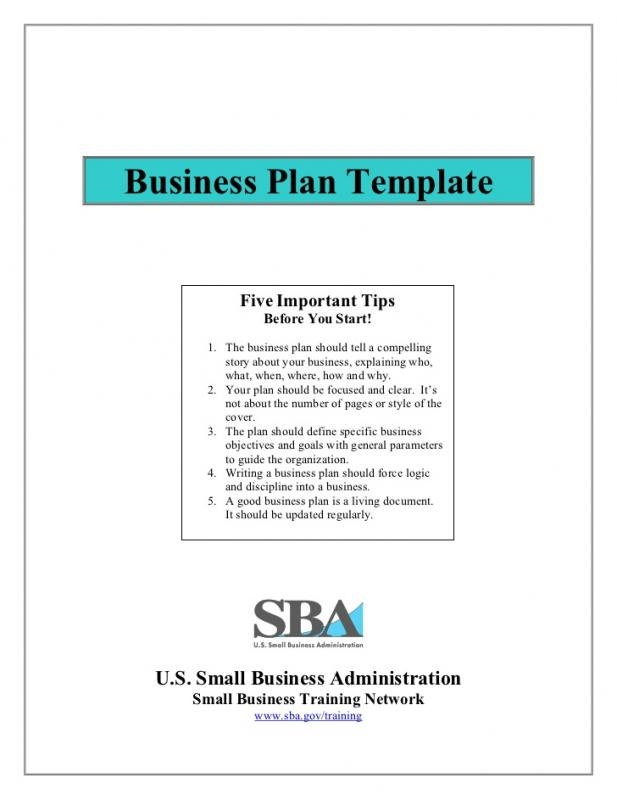 startup business plan template pdf shatterlion